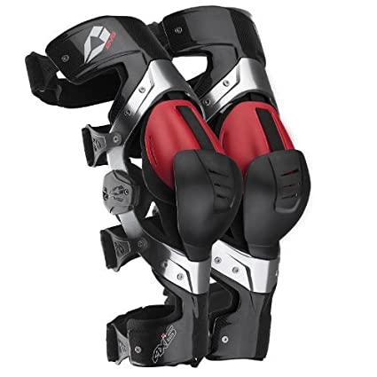 fbad7a3823 Amazon.com: EVS Sports Black/Red Axis Pro Knee Brace Size Small Pair Made  for Lightweight Comfort and Flexibility 212045-3040: Automotive
