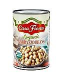 Casa Fiesta Organic Garbanzo Beans 15oz 12 pack