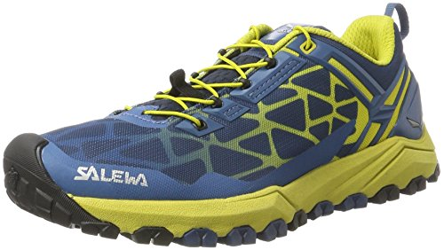 Salewa Men's Multi Track Speed Hiking Shoe, Dark Denim/Kamille, 9.5 D US by Salewa