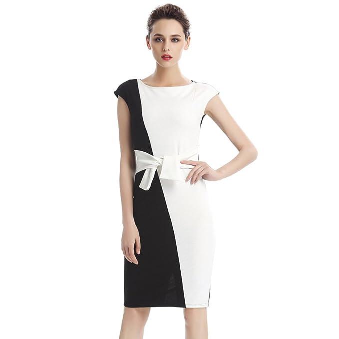Negocio vestido elegante vestido lápiz vestido vintage vestido