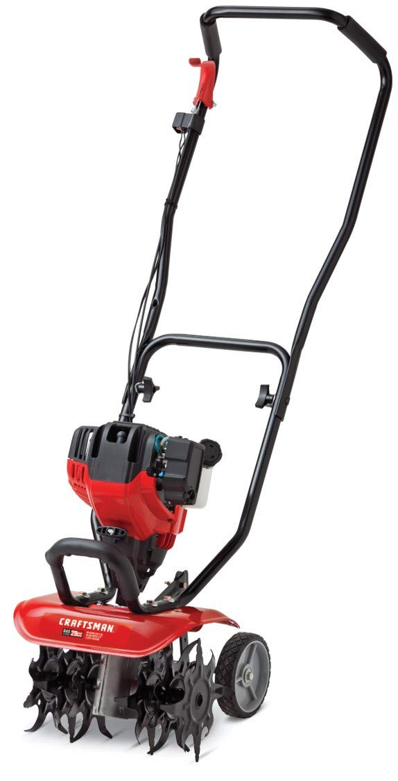 Craftsman CMXGVAMKC29A 12-Inch 29cc 4-Cycle Gas Powered Cultivator/Tiller