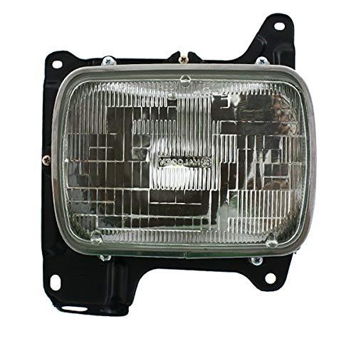 Koolzap For 86-97 D21 Pickup Truck Front Headlight Headlamp Head Light Lamp Right Side