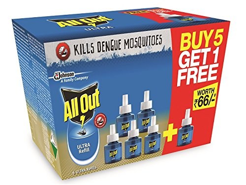 All Out Ultra Refill Saver (270ml, Pack of 6) At 15% Discount