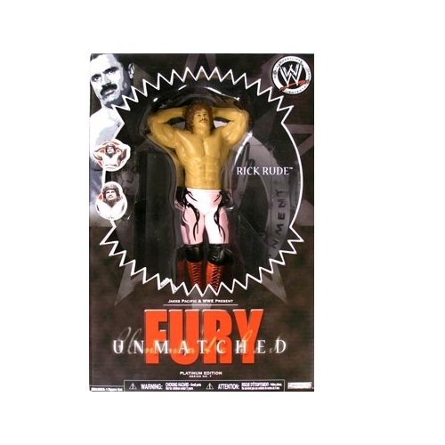 Unmatched Fury 7 Rick Rude Action Figure