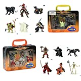 two headed axe - Papo Mini Fantasy Knights and Monster, 2 Sets of 12 Figures + Carrying Case