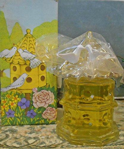 "Avon Dovecote Birdhouse Doves Decanter ""Charisma"" Cologne 4oz Decanter"