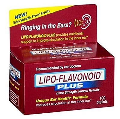Lipo-Flavonoid Plus Ear Health Dietary Supplement Caplets (Pack 2)