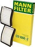 Mann-Filter CU 1006-2 Cabin Filter  for select  BMW models -Set of 2