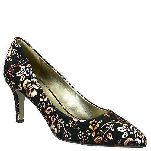 David Tate Opera 2 Womens Pump Shoe, Metalic Floral, Size - 11WW
