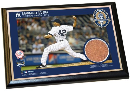Steiner Sports MLB New York Yankees Mariano Rivera New York Yankees The Final Season 2013 4x6 Dirt Plaque