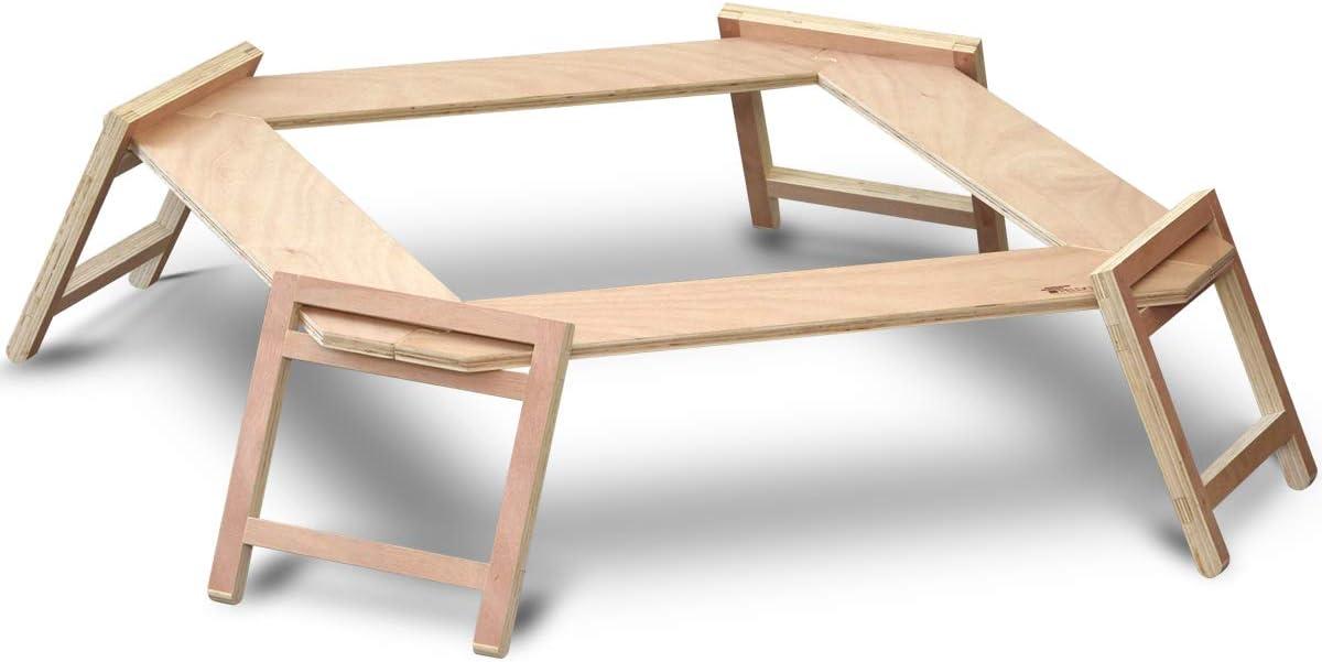 フィールドア パネル式 木製囲炉裏テーブル