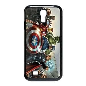 Samsung Galaxy S4 I9500 Phone Case Black Avengers HCM083632