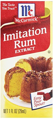 McCormick Imitation Rum Extract, 1-Ounce Unit