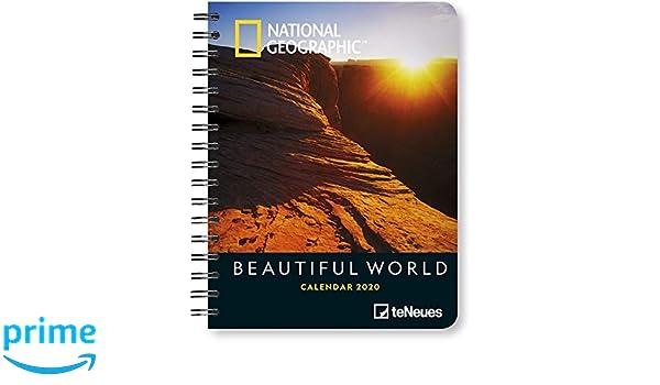 National Geographic Beautiful World 2020 Diary: Amazon.es ...