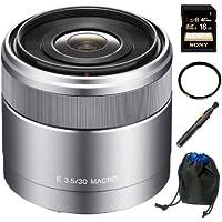 Sony DSLR SEL30M35 30mm F3.5 E-Mount Nex Macro Lens Kit K1
