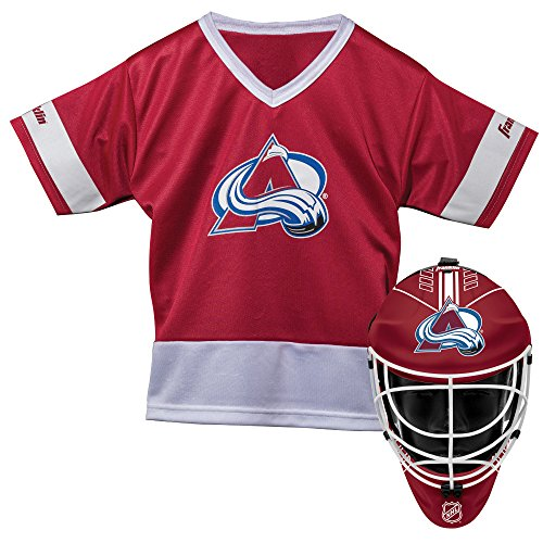 Franklin Sports NHL Colorado Avalanche Youth Team Uniform Set (Good Team Costumes)