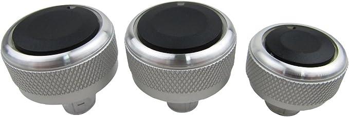 Alu Chrom Schalter Drehschalter Regler Set Heizung Klima Ac Lüftung Auto