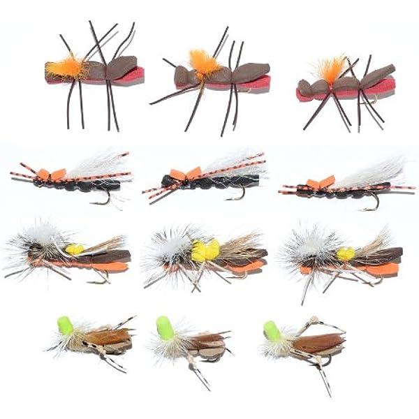 UV2 Chubby Chernobyl Ant Flies Four 4 Red//Black