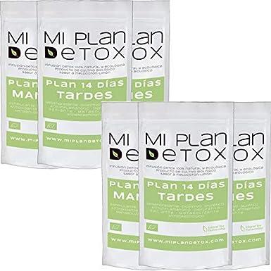 MI PLAN DETOX Pack 2 Té detox 14 días · Té detox · Té detox 100 ...