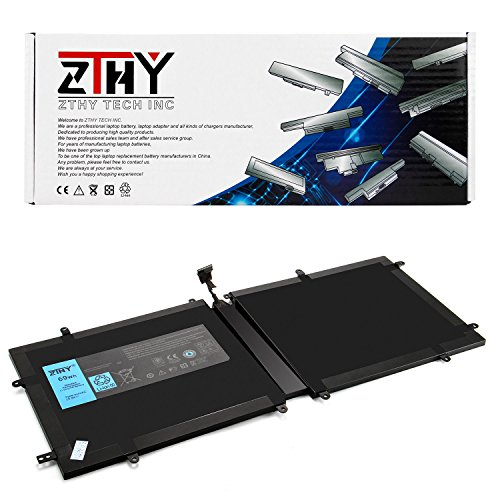 ZTHY New 4DV4C Laptop Battery Replacement For Dell XPS 18 1810 1820 Series Tablet D10H3 63FK6 14.8V 69Wh