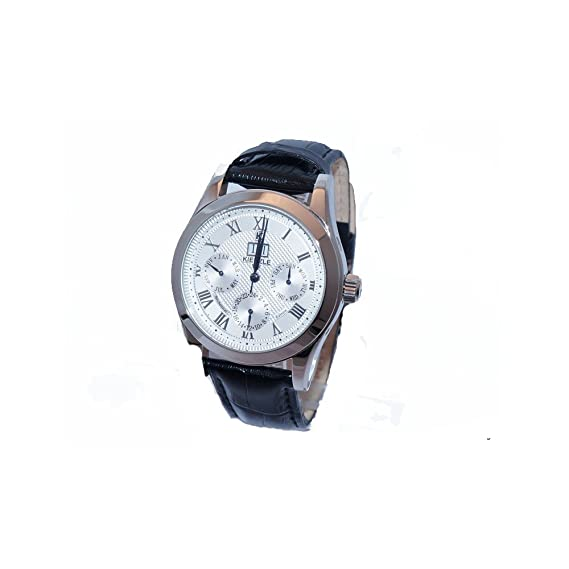Reloj de pulsera para hombre Kienzle Classic Meo/2530 correa de piel automático Calendario completo