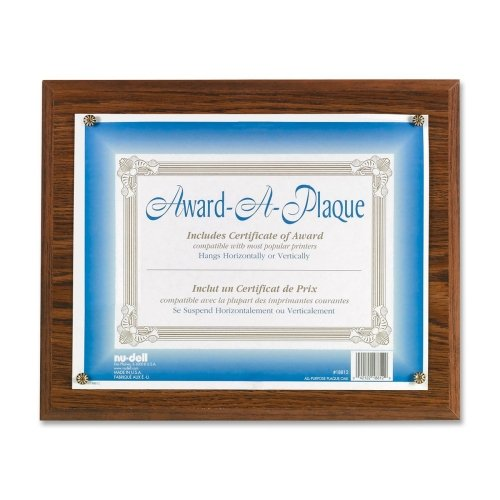 NUD18812M - Award-A-Plaque Document Holder Award A-plaque Document Holder