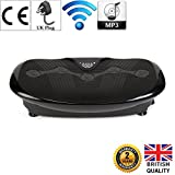 GLOBAL RELAX ZEN SHAPER PLUS Vibration plate - Black (2019 new model) - Fitness Oscillating Vibration Platform – MP3 music – 3 exercise areas (walk-jogging-running) - 2 Years Official Warranty UK