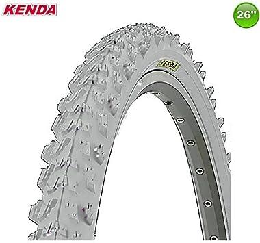 1 X Kenda MTB Neumático de la Bicicleta Cubierta - Color Gris - 26 ...