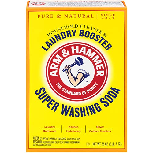 Arm & Hammer Super Washing Soda 55 oz. (Homemade Laundry Soap With Borax And Washing Soda)