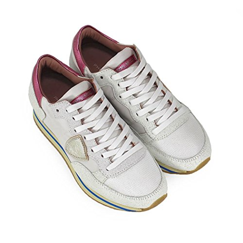 Philippe Spring Shoes Glitter Model 2018 Higher White Summer Sneaker Women's Tropez OOAwa