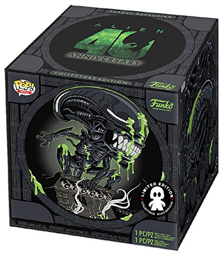 Funko Alien Pop! & tee Box 40th Xenomorph heo Exclusive Size M Shirts