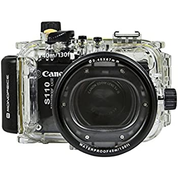 Monoprice 110602 Waterproof Camera Dive Housing for Canon S110