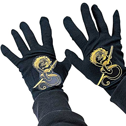Ninja Child Black Gloves -
