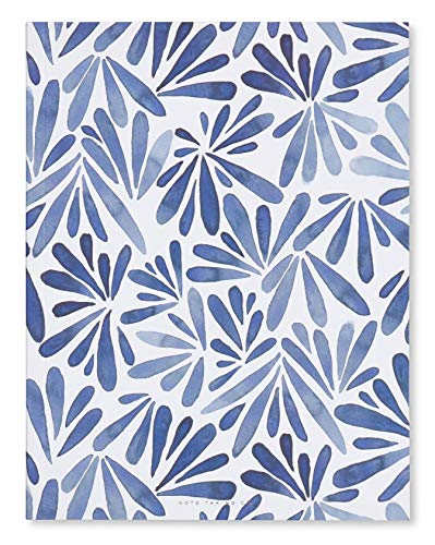 Paperboard Cover Journal - West Emory Blue Petal 9.8