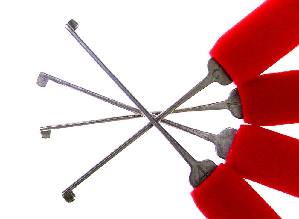 DBH Dimple Kaba crochetage de serrure FamilyMall double Kaba verrouillage Opener serrurier outils avec transparente Kaba Serrure