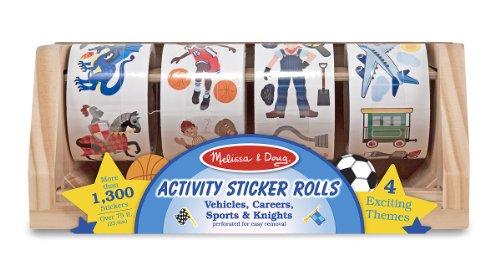 Melissa Doug Sticker Vehicles Careers