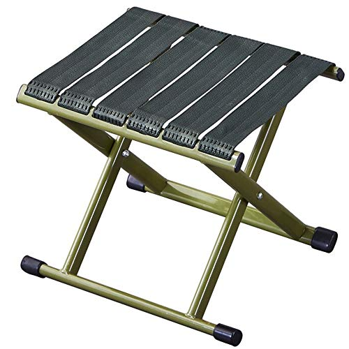 Poit Mini Folding Camping Stool Fishing Chair, 11.8X 9.8X 11.8 Inch
