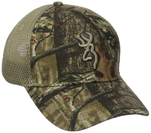 Browning Breeze Mesh Back Cap, Mossy Oak Infinity/Tan, Semi-Fitted