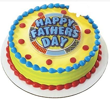 Happy Fathers Day Cake Decoration Cake Topper  sc 1 st  Amazon.com & Amazon.com: Happy Fathers Day Cake Decoration Cake Topper: Toys u0026 Games