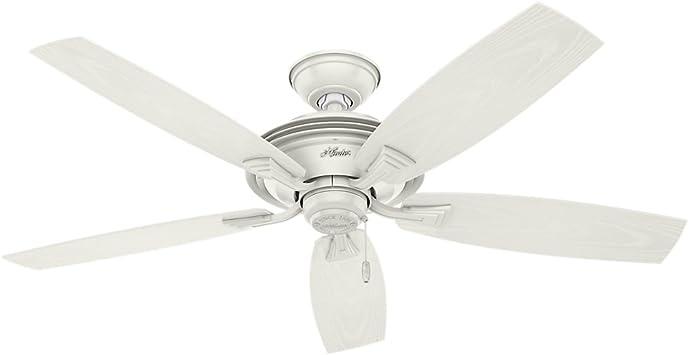 Hunter Fan Company 53346 Hunter 52 Rainsford Fresh White Ceiling Fan Large