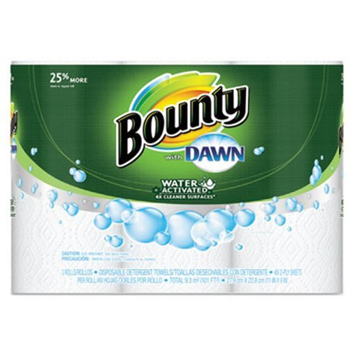 bounty-pgc92379ct-paper-towels-with-dawn-2-ply-11-x-14-49-per-roll-3-pack