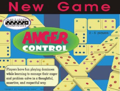 Anger Control Play-2-Learn Educational Dominoes Game
