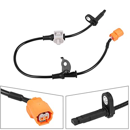 X AUTOHAUX Vehicle ABS Wheel Speed Sensor Replacement Rear Right 57470-SEA-013
