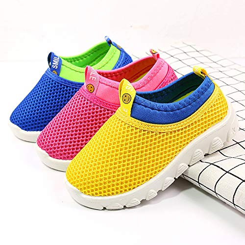 Breathable Mesh Running Sneakers Sandals Lightweight Slip-on Walking Shoes for Toddler Kids Pool Beach Sports Namektch Boys Girls Water Shoes