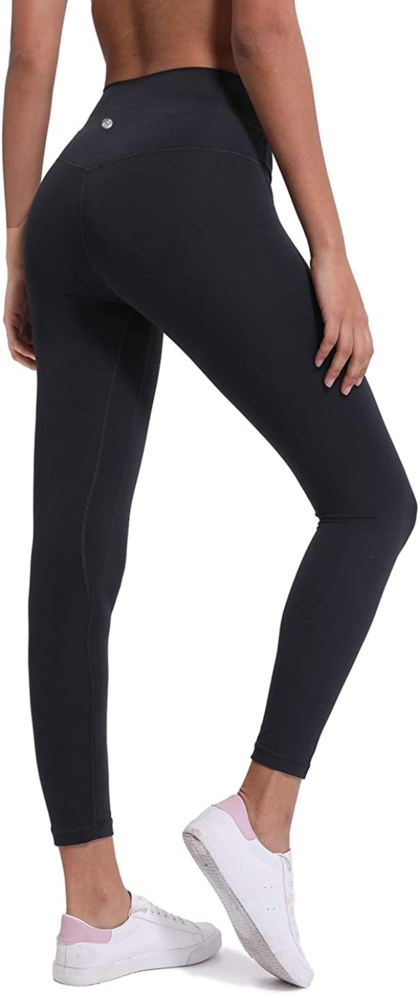 Tummy Control Workout Running Stretch Leggings DOMODO High Waist Leggings Yoga Pants with Pockets for Women