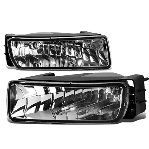 For Ford Expedition U222 Pair of Bumper Driving Fog Lights (Clear Lens)