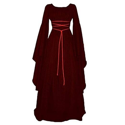 Gerzely Las Mujeres Irregulares Medieval Vestido Renacentista ...
