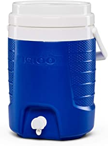 Igloo 2-Gallon Sport Beverage Cooler, Majestic Blue, Model Number: 31377