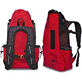 K9 Sport Sack AIR | Pet Carrier Backpack for Small and Medium Dogs | Front Facing Adjustable Pack | Veterinarian Approved Safe Bag for Travel to Carry Canine – Small – Ruby Red Review