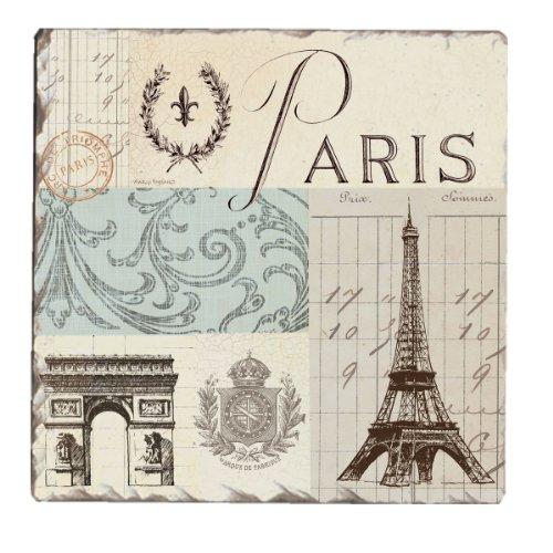 CounterArt Tumbled Paris Memory Coasters